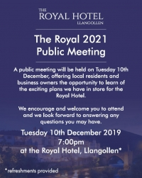 The Royal 2021 Public Meeting