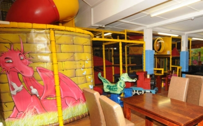 Dragon's Den Play Area